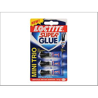 Loctite Super Glue Mini Trio 3 x 1g
