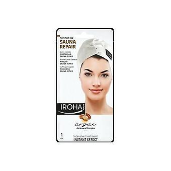 Iroha nature sauna Repair arganolie intensieve Haarmasker Cap