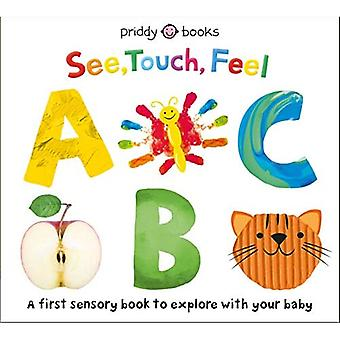 See, Touch, Feel: ABC (See, Touch, Feel) [Board book]