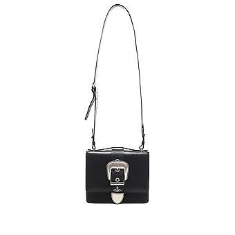 Vivienne Westwood Accessories Leather Rodeo Shoulder Bag