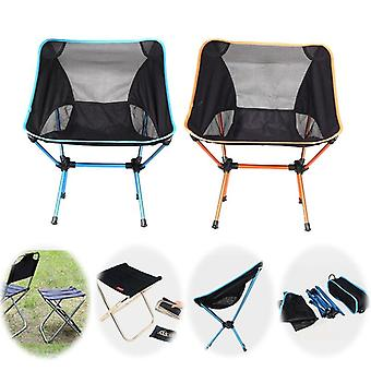 Folding Beach Chair, Outdoor Camping For Hiking Fishing Picnic Barbecue Casual