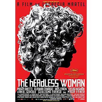 Päätön nainen elokuvajuliste (11 x 17)