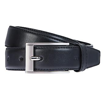 Strellson Belt Men's Belt Leather Belt Black 2306