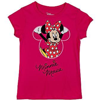 Minnie mus disney karakter klatring ungdom t-skjorte