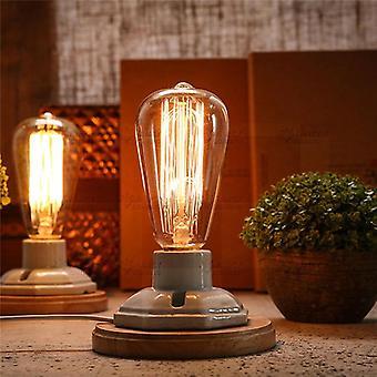 Lámpara Retro St64 Vintage Edison Bulb, Bombillas Incandescentes E27