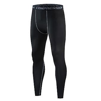 Pantaloni da uomo slim skinny casual bodybuilding fitness exercise pants