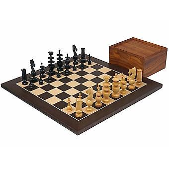 The French Regency Wenge Chess Set