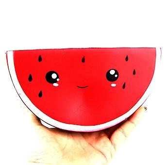 Kawaii Jumbo Squishy & Καρπούζι - Σούπερ αργή αύξηση συμπίεση φρούτα διασκέδαση παιχνίδια