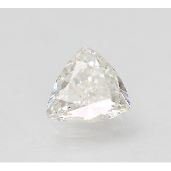 Certified 1.03 Carat E SI1 Trilliant Enhanced Natural Loose Diamond 7.31x7.14mm