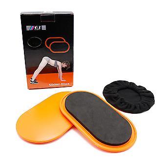 Fitness skateboard Sliders Discs