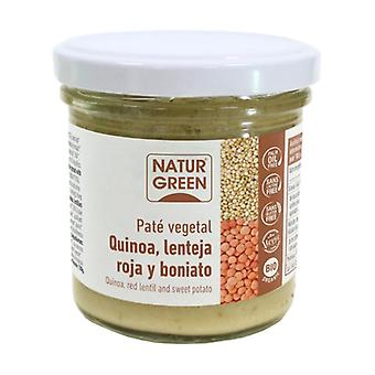 Quinoa Pate with Red Lentil and Organic Sweet Potato 130 g