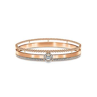 Bangle Elixir Solitaire 18K Gold and Diamonds