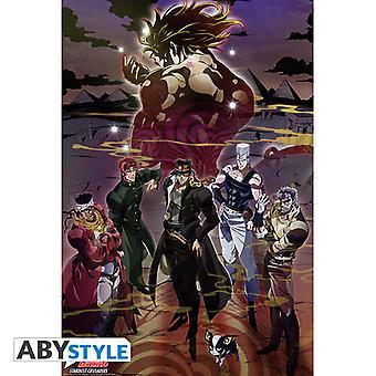 Jojo'S Bizarre Adventure - Group Maxi Poster