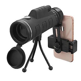 40x60 Hd Optic Bak4 Low Light Night Vision Monocular