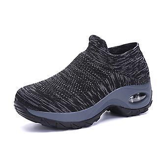 Women's chaussettes amorti chaussures de marche DeepGray