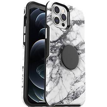 Otterbox Pop Symmetry Contraportada Apple iPhone 12 Pro Max Blanco-negro