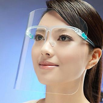 Transparent Adjustable Full Face Protective Mask