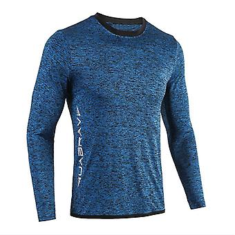 Running, Rashgard Long Sleeve Gym/sportswear Compression Dry Fit Shirts Fitness