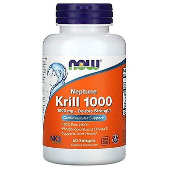 Now Foods, Krill de Neptuno 1000, Doble Fuerza, 1,000 mg, 60 Softgels