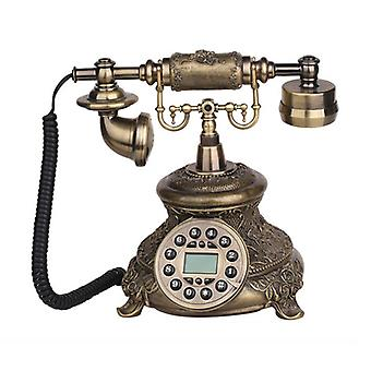 Telefon fix cu cordon telefon vintage antic stil de modă veche Retro Home Office Decorare