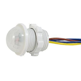 40mm Led Sensitive Adjustable White Infrared Light Motion Sensor