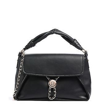Bag Donna Liu-jo Crossbody M Shoulder Strap In Black Faux Leather Bs21lj10 Aa1077
