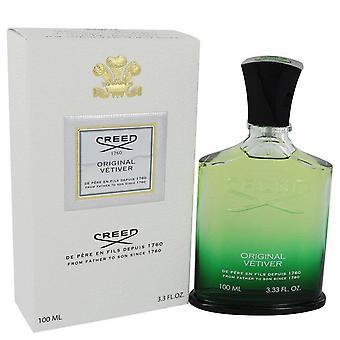 Original Vetiver Eau De Parfum Spray By Creed 3.3 oz Eau De Parfum Spray
