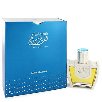 Swiss Arabian Fadeitak Eau de Parfum Spray por Swiss Arabian 1,5 oz Eau de Parfum Spray