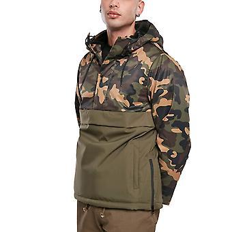 Urban Classics - PADDED PULL OVER Winter jacket wood camo