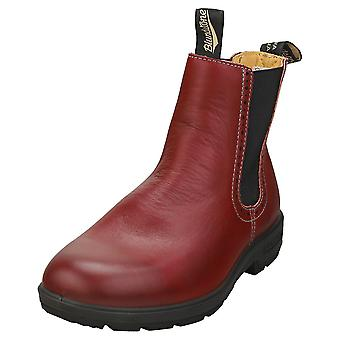 Blundstone 1443 Womens Chelsea Boots in Burgundy