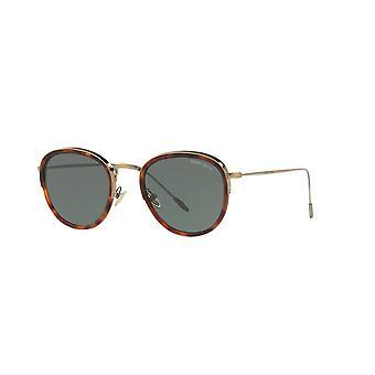 Giorgio Armani AR6068 3198/71 Czerwone Havana/Zielone Okulary przeciwsłoneczne