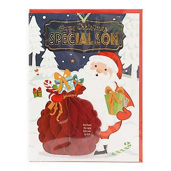 Historia i heraldyka pre-spersonalizowane kartki świąteczne dla specjalnego syna