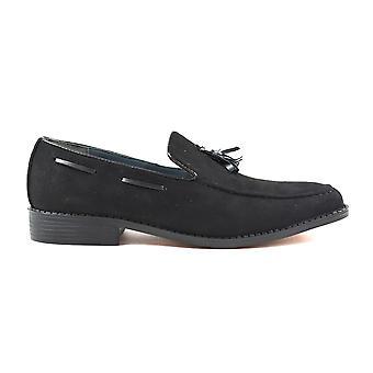 Men's Tassel Shoes Black