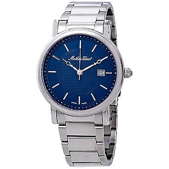 Mathey-Tissot City Metal Blue Dial Men's Watch HB611251MABU