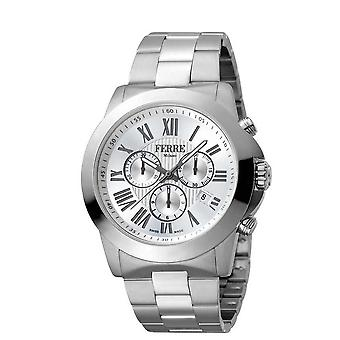 Ferre Milano Silver Dial Men's Watch FM1G079M0061