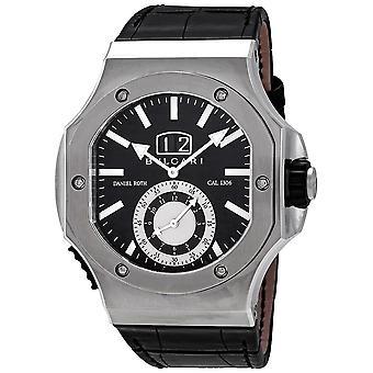 Bvlgari Endurer Chronograph Automatic Black Dial Men's Watch 101844