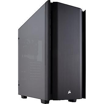 HanFei 500D Mid-Tower PC-Gehuse (Gehrtetem Glas und Aluminium in Premium-Qualitt)