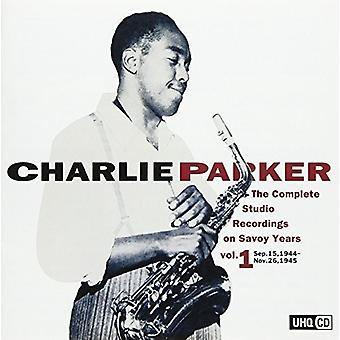 Charlie Parker - Charlie Parker: Grabación completa de estudio en Savoy 1 [CD] Importación de EE.UU.