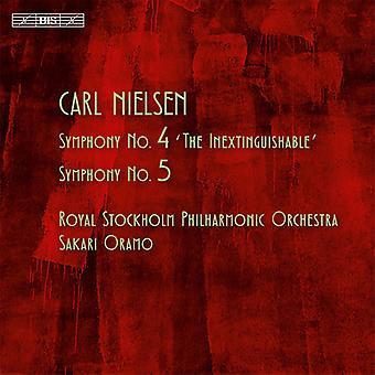 C. Nielsen - Nielsen: Symfonieën Nos. 4 & 5 [SACD] USA import