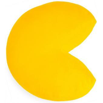kissen Pac-Man 34,5 x 32 cm Polyester gelb