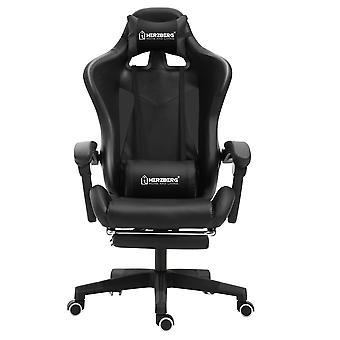Ergonomiczne krzesło do gier - czarne