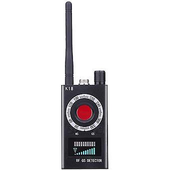 Skannerin lakaisukoneen vakoilutunnistin Hiippailun ekokameran anti-tippa valvonta Langaton signaalinilmaisin GPS-ilmaisin Vakoilun ekoilmaisimelle (musta)
