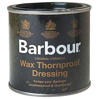 Barbour Wax Dressing Tin - Thornproof, Waterproof for Barbour Clothing / Jackets 200ml