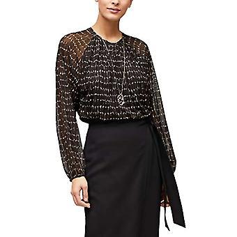 s.Oliver BLACK LABEL 150.10.012.12.130.2056095 T-Shirt, Black (99A2), 42 Woman
