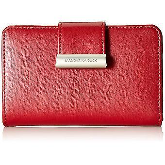 Mandarin Duck Hera 3.0 Wallet, Woman, Red, 2.5x9x14 centimeters (B x H x T)