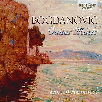 Angelo Marchese - Bogdanovic: Guitar Music [CD] USA import