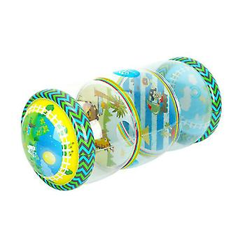 Mimigo Infant Toys Beginner Crawl Along Game Ball Drop Maze Tummy Time Activity Center Early Development Jumbo Roller Rattle Toy Baby Toys For 6 Month