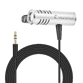 Omni-directional Double Condenser Microphone Silver