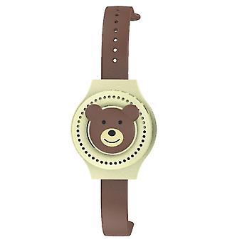 Portable children's watch fan, usb rechargeable