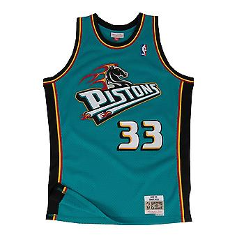 M&N Swingman Mesh Jersey Detroit Pistons 1998-99 Grant Hill
